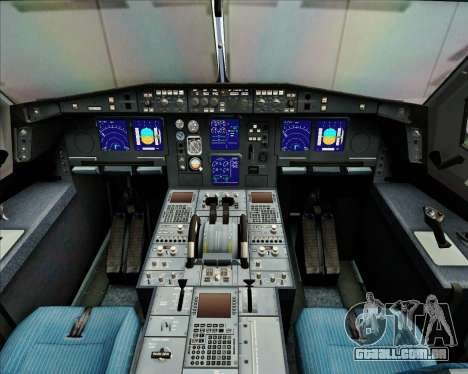 Airbus A340-313 China Airlines para GTA San Andreas interior
