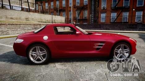 Mercedes-Benz SLS AMG [EPM] para GTA 4 esquerda vista