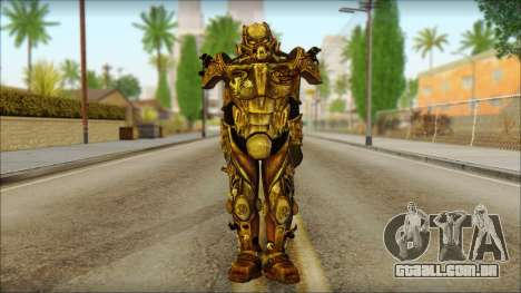 Enclave Tesla Soldier from Fallout 3 para GTA San Andreas