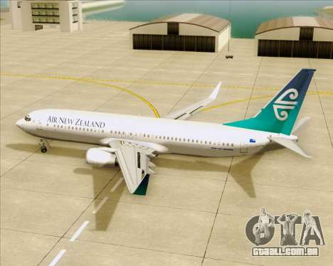 Boeing 737-800 Air New Zealand para GTA San Andreas interior