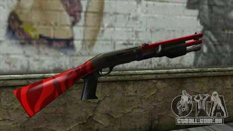 Shotgun para GTA San Andreas segunda tela