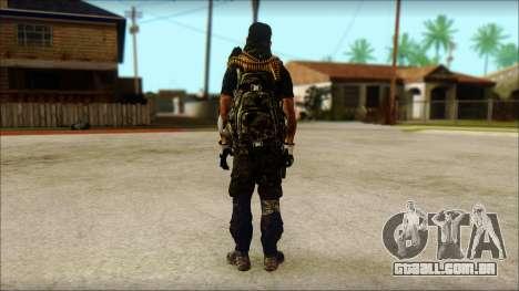 Australian Resurrection Skin from COD 5 para GTA San Andreas segunda tela