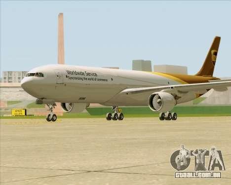 Airbus A330-300P2F UPS Airlines para GTA San Andreas vista direita