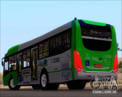 Caio Induscar Millennium BRT Viacao Gato Preto para as rodas de GTA San Andreas