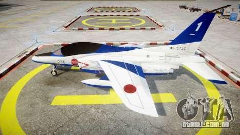 Kawasaki T-4 para GTA 4 esquerda vista