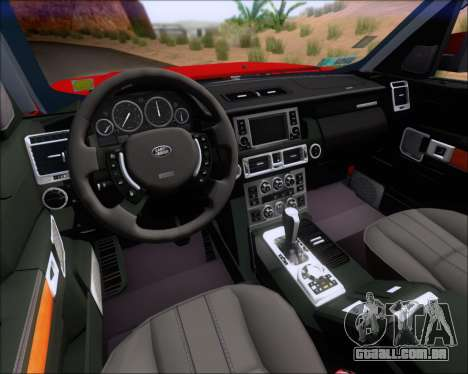 Land Rover Discovery 4 para as rodas de GTA San Andreas