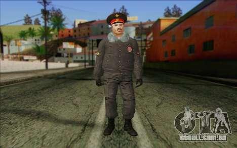 A Polícia Da Rússia Pele 1 para GTA San Andreas