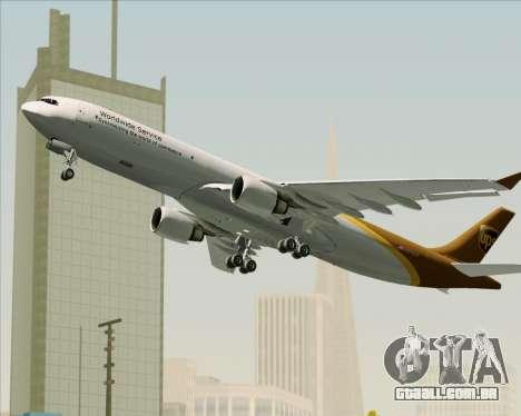 Airbus A330-300P2F UPS Airlines para GTA San Andreas