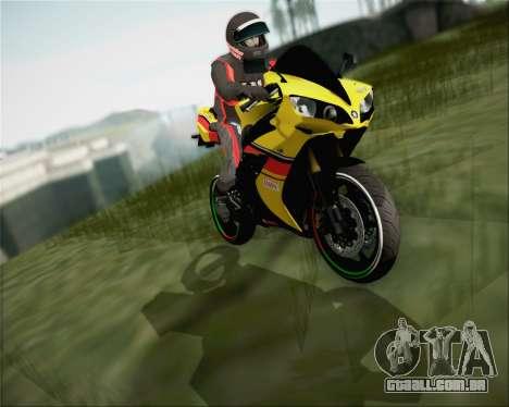 Yamaha R1 HBS Style para GTA San Andreas