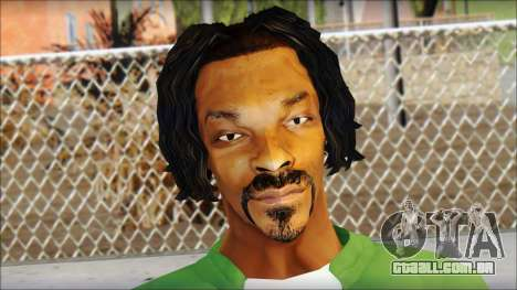 Snoop Dogg Mod para GTA San Andreas terceira tela