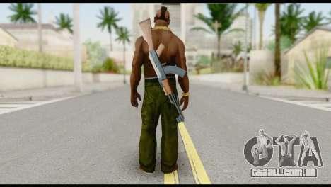 MR T Skin v7 para GTA San Andreas segunda tela