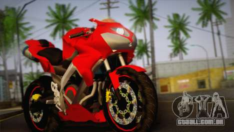 Yamaha New V-Ixion Lightning Concept Variasi para GTA San Andreas