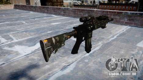 Automatic rifle Colt M4A1 ce digital para GTA 4 segundo screenshot