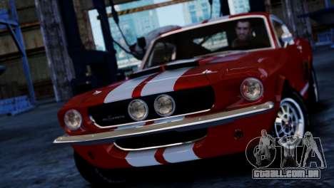Shelby Cobra GT500 1967 para GTA 4