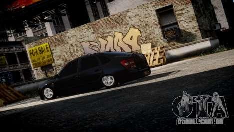 Lada Granta para GTA 4 vista direita