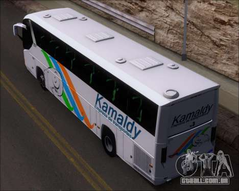 Comil Campione 3.45 Scania K420 Kamaldy para GTA San Andreas vista traseira