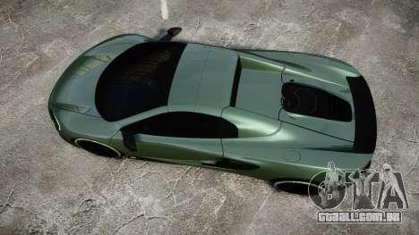 McLaren 650S Spider 2014 [EPM] Continental para GTA 4 vista direita