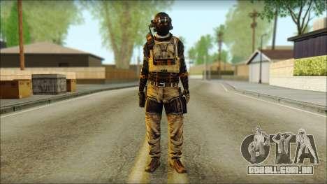 Mercenário (SC: Blacklist) v2 para GTA San Andreas