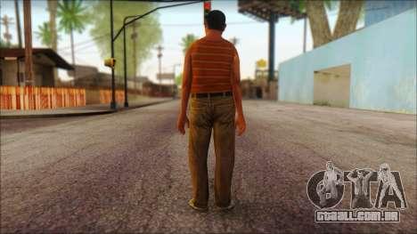 GTA 5 Ped 14 para GTA San Andreas segunda tela