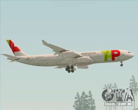 Airbus A340-312 TAP Portugal para o motor de GTA San Andreas