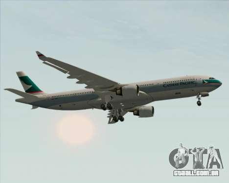 Airbus A330-300 Cathay Pacific para o motor de GTA San Andreas