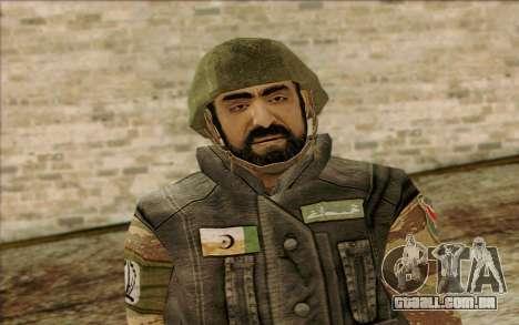 Soldados MEK (Battlefield 2) Pele 1 para GTA San Andreas terceira tela