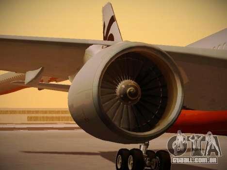 Airbus A330-200 Jetstar Airways para as rodas de GTA San Andreas