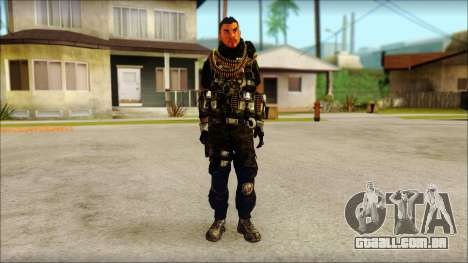 Australian Resurrection Skin from COD 5 para GTA San Andreas