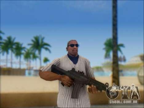 Israelenses carabina ÁS 21 para GTA San Andreas décima primeira imagem de tela