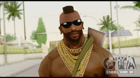 MR T Skin v7 para GTA San Andreas terceira tela