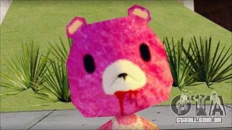 Gloomy the Foxy Bear Ped Skin para GTA San Andreas terceira tela
