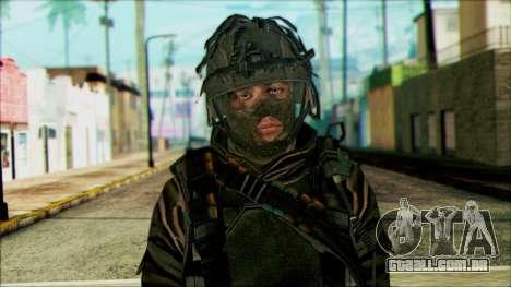 Soldados a bordo (CoD: MW2) v4 para GTA San Andreas terceira tela