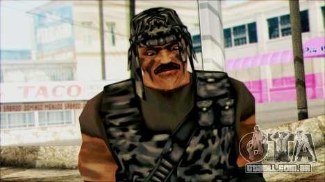 Manhunt Ped 22 para GTA San Andreas terceira tela