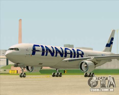 Airbus A330-300 Finnair (Current Livery) para GTA San Andreas esquerda vista