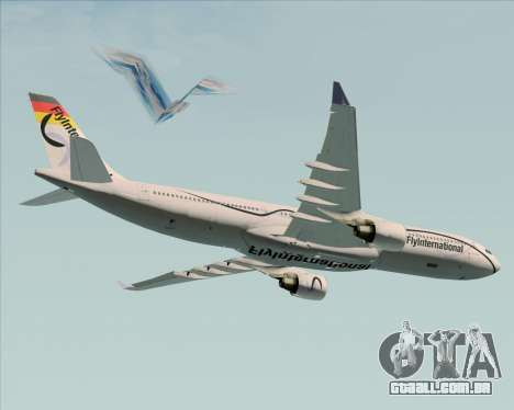 Airbus A330-300 Fly International para o motor de GTA San Andreas