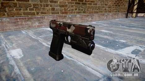 Pistola Glock 20 estão vermelhos para GTA 4