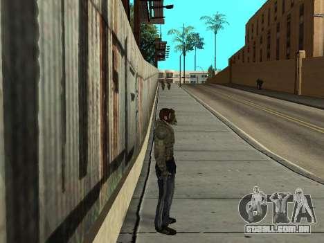 Calças de bandido de Stalker para GTA San Andreas segunda tela