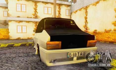 Dacia 1310 B 69 TAU para GTA San Andreas traseira esquerda vista