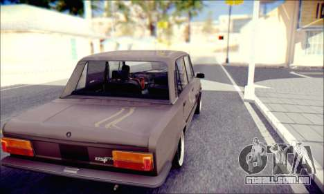 Fiat 125P Shark para GTA San Andreas vista direita