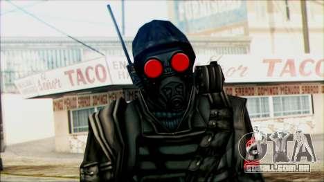 Manhunt Ped 1 para GTA San Andreas terceira tela