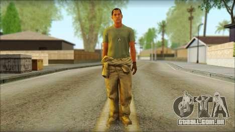 GTA 5 Soldier v3 para GTA San Andreas