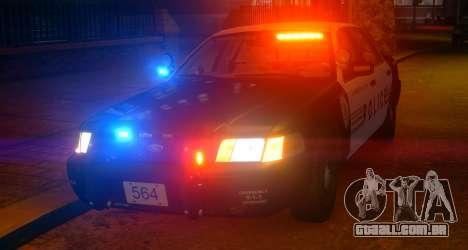 Ford Crown Victoria LCPD [ELS] Slicktop para GTA 4 esquerda vista