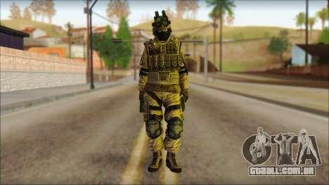 Soldados da UE (AVA) v4 para GTA San Andreas