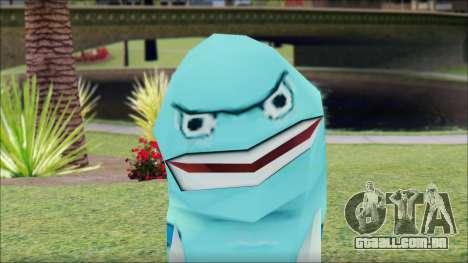Blufish from Sponge Bob para GTA San Andreas terceira tela