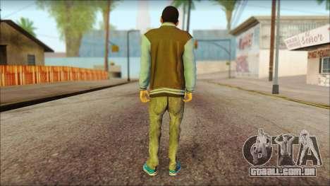 Los Aztecas Gang Skin v2 para GTA San Andreas segunda tela