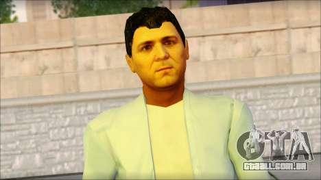 Michael from GTA 5 v4 para GTA San Andreas terceira tela