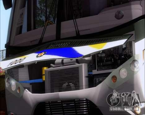 Marcopolo Ideale 770 - Volksbus 17-230 EOD para GTA San Andreas vista interior
