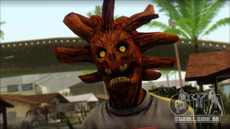 Guardians of the Galaxy Groot v1 para GTA San Andreas terceira tela