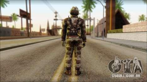 Navy Seal Soldier para GTA San Andreas segunda tela
