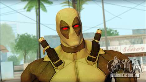Xforce Deadpool The Game Cable para GTA San Andreas terceira tela
